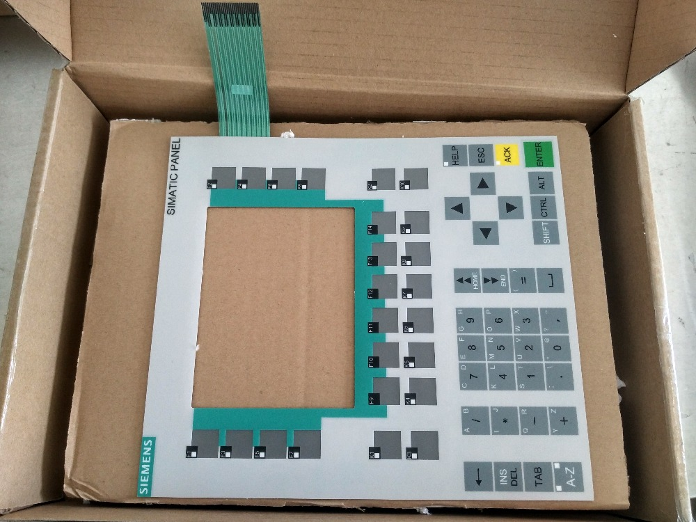 6AV6542-0BB15-2AX0 6AV6 542-0BB15-2AX0 OP170B Compatible Keypad Membrane for Siemens keypad replacement  цены