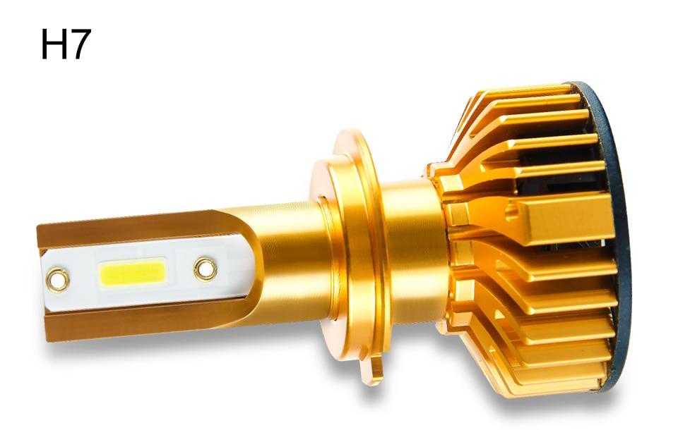 Foxcnsun 2PCS H7 LED H4 Car headlight H1 H3 H11 H7 9005 9006 72W 10000lm Auto Hi Lo Beam H8 H9 HB4 HB3 6500K CANBUS DOB Chip 12V (11)