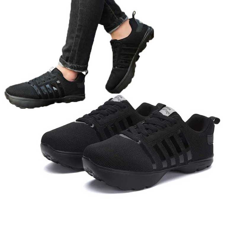 Новинка; мужская повседневная обувь с отрицательным каблуком; Мужская ортопедическая обувь с перевернутым носком; черные мужские сетчатые полосатые спортивные кроссовки для бега; студенческие кроссовки