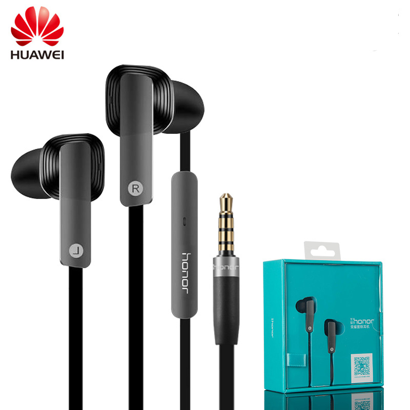 Original Huawei Honor AM175 Earphone Dynamic Balanced Armature Dual Unit Earphone with Microphone In-Ear Headset стоимость