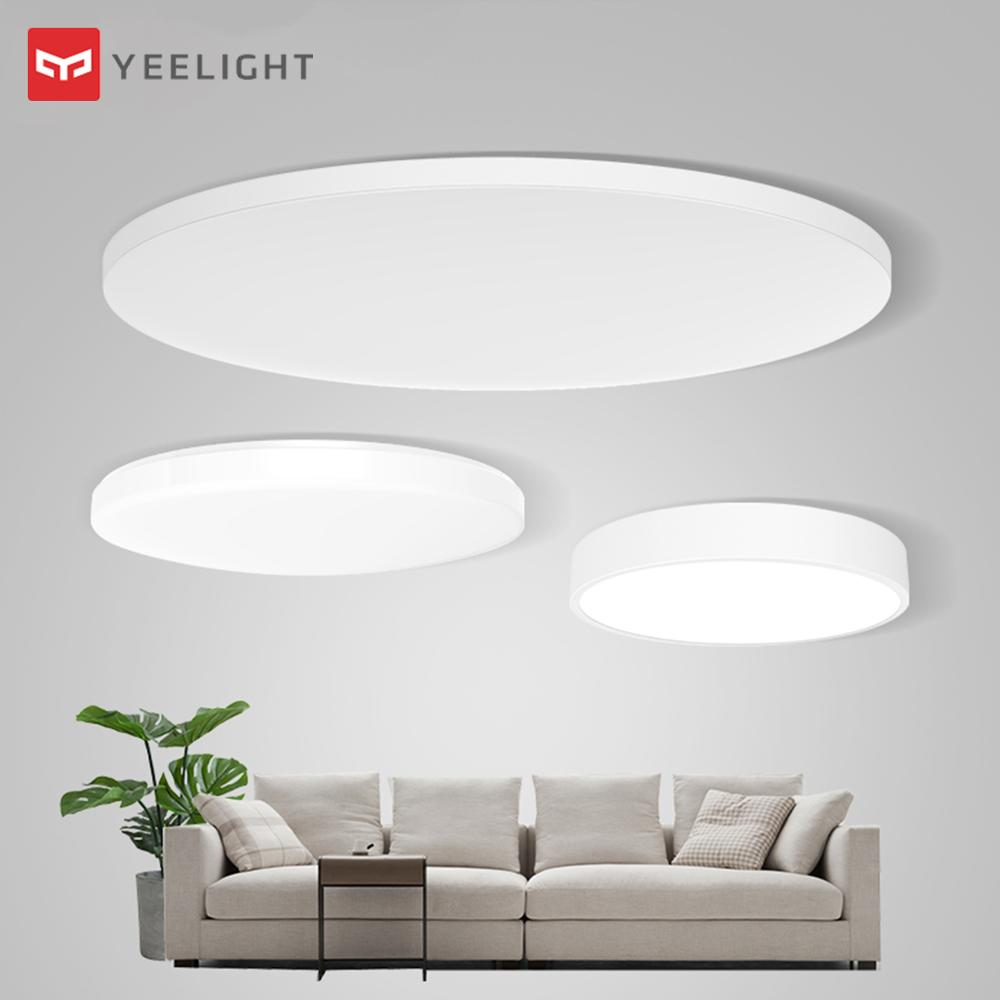 [HOT]Original Xiaomi Mijia Yeelight Smart Ceiling Light Lamp Remote Mi APP WIFI Bluetooth Control LED Color IP60 Dustproof