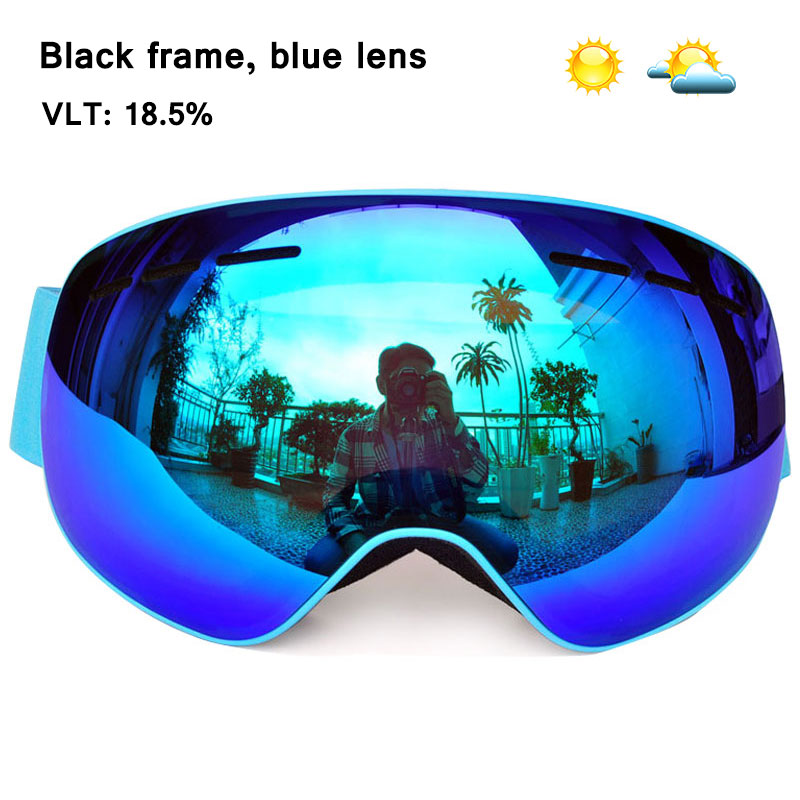 d42762cc33bc GOG 4100 Winter magnetic connection ski goggles UV400 anti fog ski mask  snow glasses snowboard Skiing goggles for men women -in Skiing Eyewear from  Sports ...