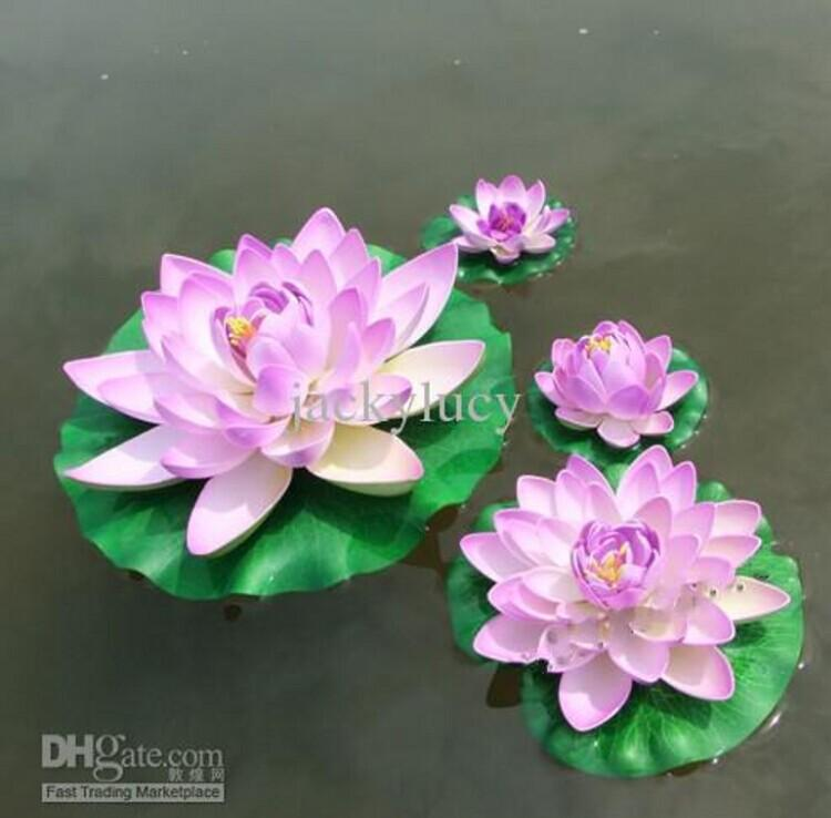 60cm huge artificial decorations lotus flower craft water pool fake 60cm huge artificial decorations lotus flower craft water pool fake eva flower for christmas ornament wedding party decoration in artificial dried mightylinksfo