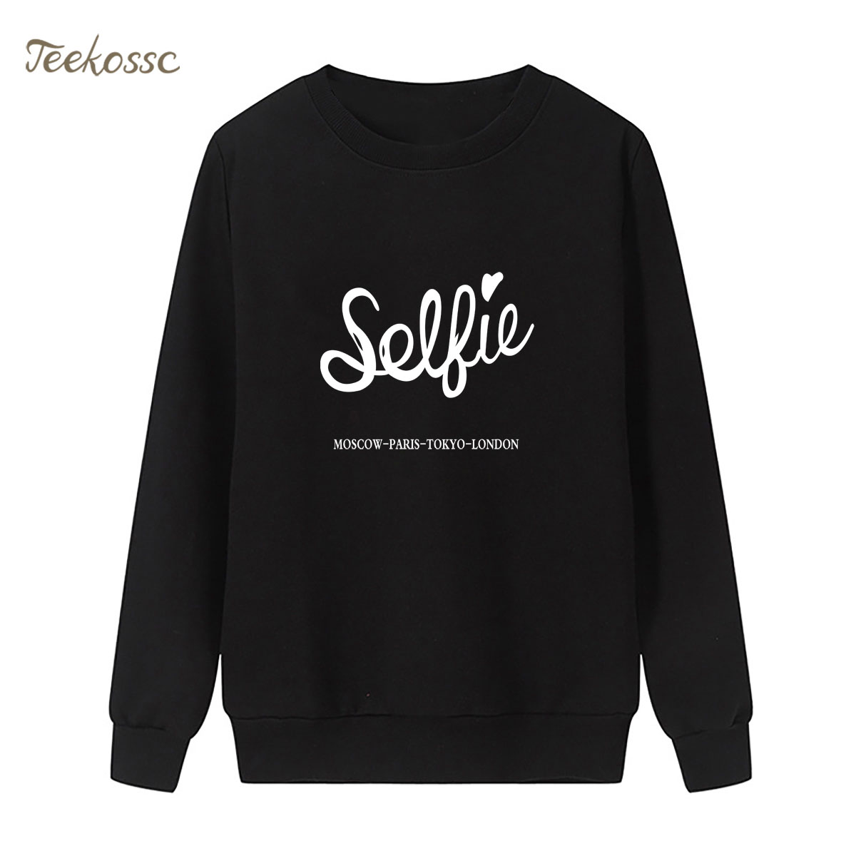 Striped Sweatshirt Love Print Hoodie New Fashion Winter Autumn Women Lasdies Pullover Loose Fleece Streetwear Hip Hop Sportswear
