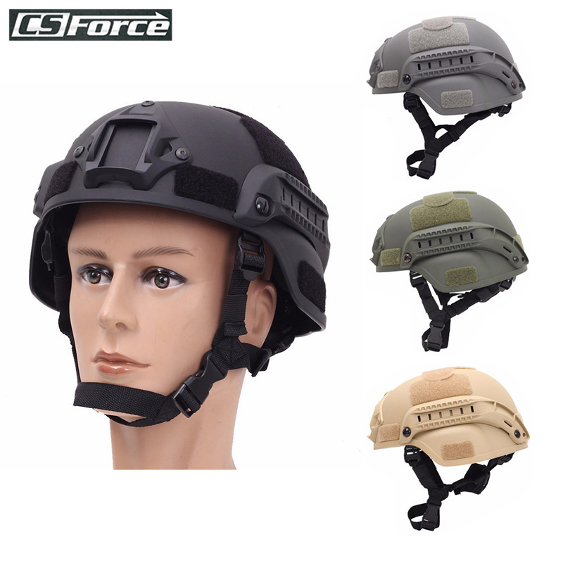 Tactical Lightweight Military Fast Helmet MICH2000 Airsoft Outdoor Paintball CS Swat Riding Shooting Hunting Protect Equipment