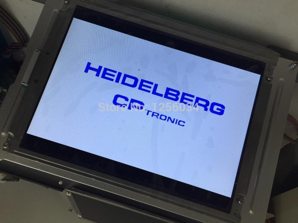 3 pieccs12 months warranty printing display screen, heidelberg CP Tronic display ,TFT display,MV.036.387,00.785.0353 brand new pn 10343 3m microtouch touch screen well tested working three months warranty