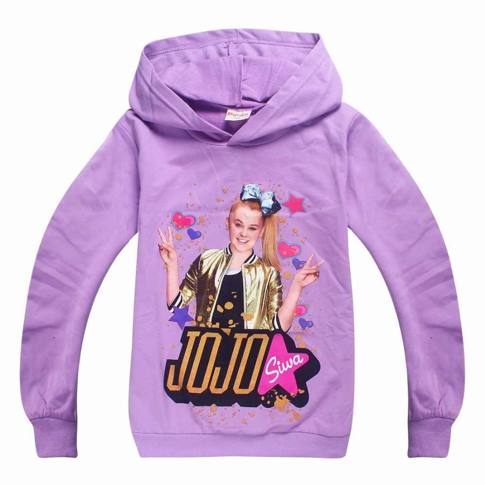 58e5dac126 4-12Years Children Cartoon SIWA Boys Girls's Clothing Fall 2018 New Baby  Kids Hoodies Girls Sweatshirts Big Child Clothes
