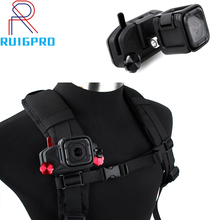 Esportes câmeras de ação de náilon montagem clipes carga mochila cinto de montagem clipe cinta fivela para gopro hero 3/3 +/4/5/6/7