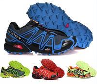 Salomon Speed cross 3 CS Men Running Athletic Zapatillas Sport Outdoor Shoes Hombre Solomon Speedcross Male Running Running Muje
