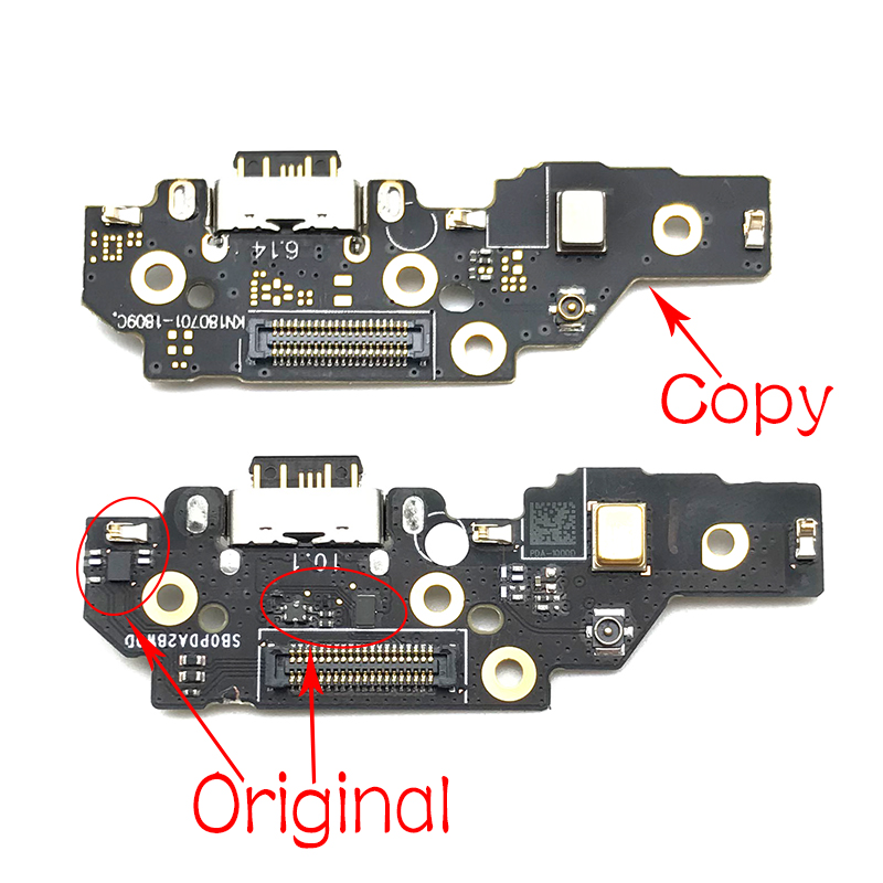 For Nokia 5.1 Plus Dock Connector Charger Board For Nokia X5 USB Charger Charging Port Flex Cable Board Replacement Parts