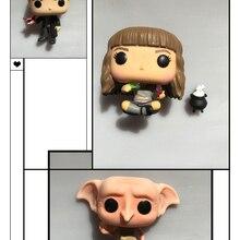 Funko pop используется Гарри Поттер Гермиона котел Рон Ревун Добби щелкающая Виниловая фигурка Коллекционная модель свободная игрушка