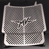 For MV Agusta Brutale 675 2012 2015 Motorcycle Accessories Radiator Grille Guard Cover Oil Cooler Guard