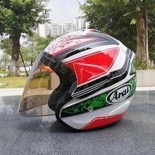 Мотоциклетный шлем полуоткрытый уход за кожей лица для мужчин женщин Casco Винтаж мотороллер ретро-шлемы Pare Moto Cascos Para Быстрая