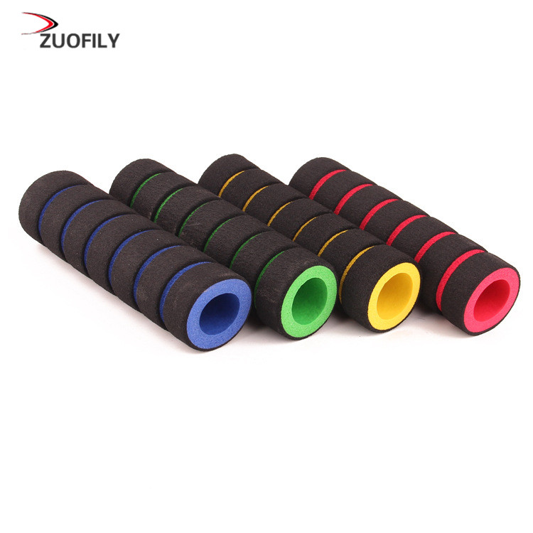 2Pc//1pair Bike Racing Handle Foam Sponge Grip
