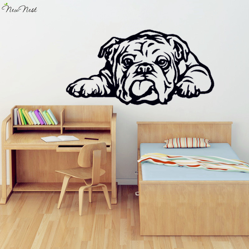 1 Room Kitchen Decoration: English Bulldog Wall Decal Vinyl Sticker Home Decor