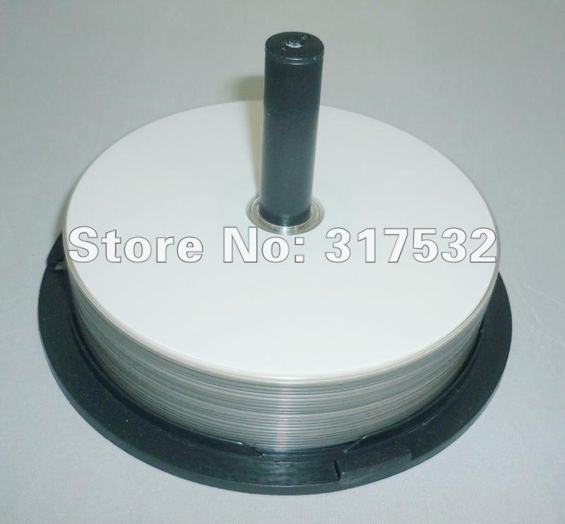 Externer Speicher Freies Verschiffen 50 Teile/los 25 Gb Blue Ray Disc Volle Oberfläche Druckbare Blu-ray Bd-r 4-10x Geschwindigkeit Blank Disc Wohltuend FüR Das Sperma