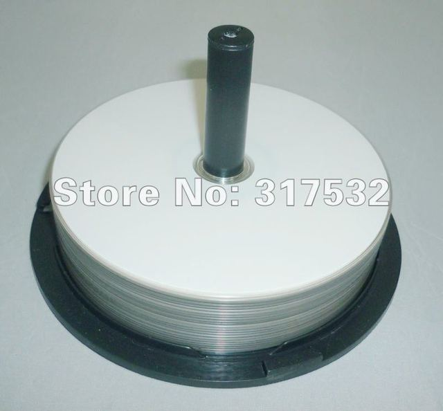 free shipping 50pcs/lot 25GB blue ray Disc full surface Printable Blue-ray BD-R 4-10x speed Blank disc