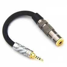 HIFI 2.5mm Balance Audio Cable for Cayin AK240 Male 2.5mm to 3.5mm 4.4mm 6.35mm 4 Pin XLR Female Headphone Conversion Cable(China)