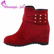 Ankle Boots Women Botines Mujer 2019 Winter Black Shoe High heels Short Ladies Boot Plus Size High Quality Woman Shoes Botas nancyjayjii purple ruffles knee high boots zipper winter round toe spike heels women shoes woman botas botines zapatos mujer