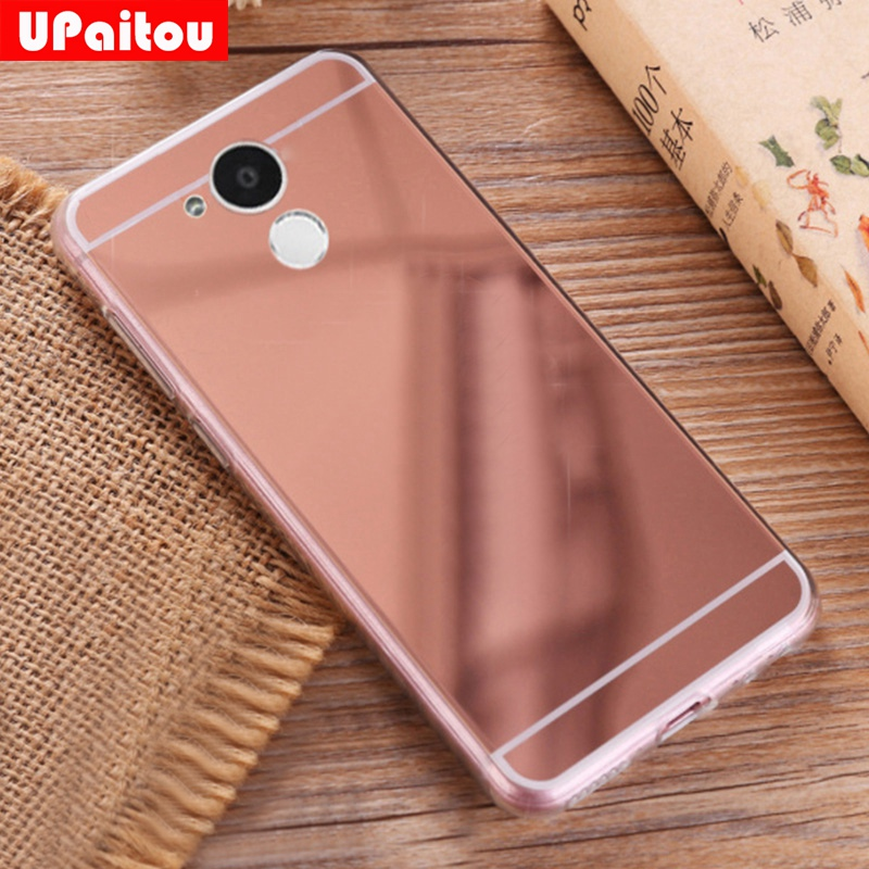 selezione premium 19632 1f738 US $1.69 15% OFF UPaitou Luxury Bling Mirror Case For Huawei Honor 6A Cover  Soft TPU Case Honor 6A Pro/Holly 4 Dual Sim Silicone Back Cover Case-in ...