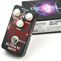 JF 02 Ultimate Drive Electric Guitar Effect Pedal with True Bypass