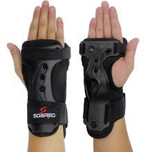 Esqui Braçadas Apoio para o Punho a Protecção das Mãos De Pulso De Esqui Snowboard Esqui Apoio Palma Proteção Rolo Mão Guarda