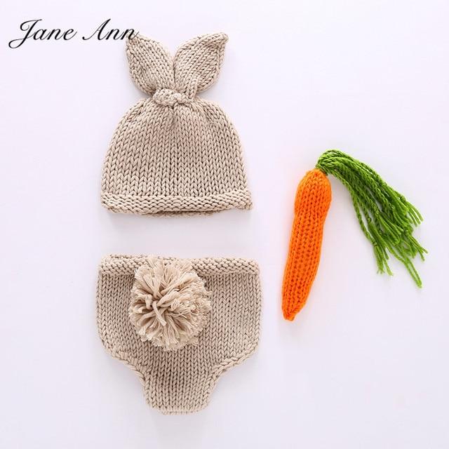 Jane Z Ann fotografía conejo encantador traje sombrero + Pantalones ...