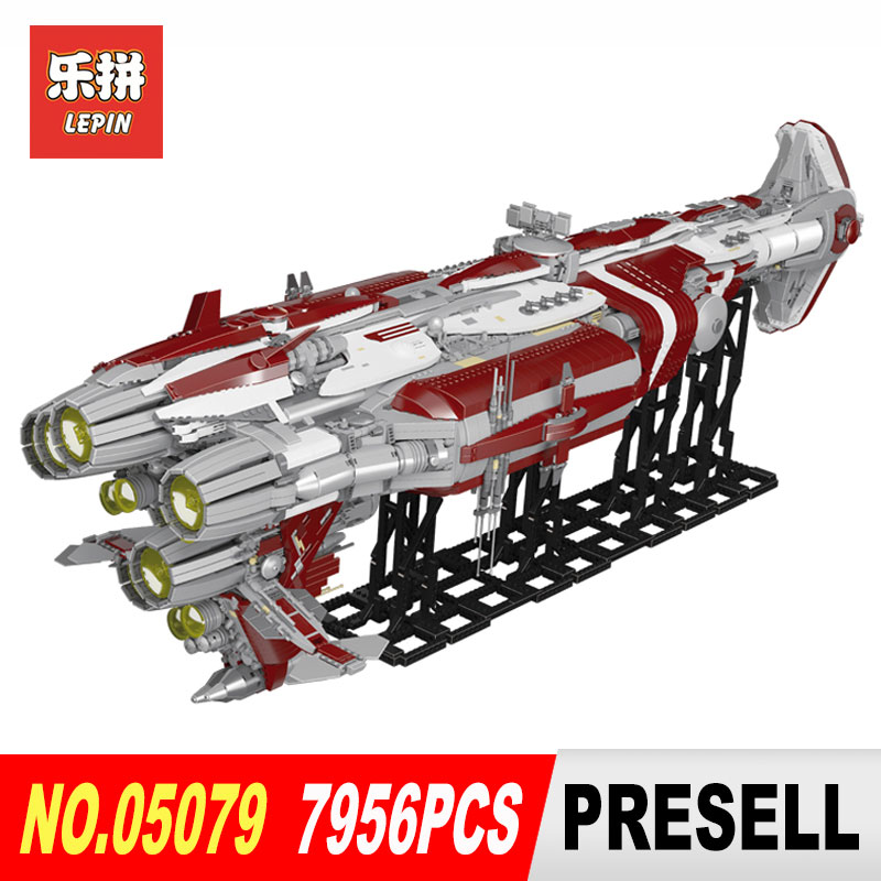lepin 05079 star wars war the moc zenith old republic escort cruiser model building kits blocks Bricks toys for boys present for the duration the war years