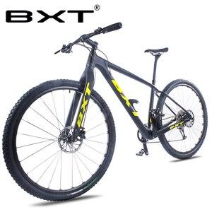 شحن مجاني جديد BXT 29 بوصة جديد دراجة هوائية جبلية 11 سرعة MTB دراجة مزدوجة مكبح قرصي الدراجة MTB دراجة الكبار 29er الدراجات