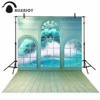 Allenjoy Photography Backdrop Sea Disaster Clock Snake Wood Floor Background Professional Photo Studio Vinyl Cloth Fabric