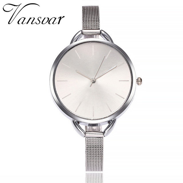 Vansvar Women Watch Top Brand Luxury Women Bracelet Watch For Ladies Stainless S