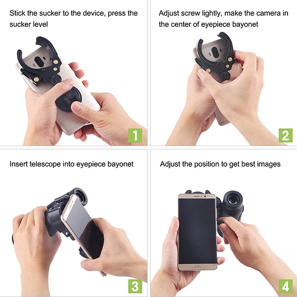 Universal Cell Phone Adapter Mount Phone Supporter  (7)
