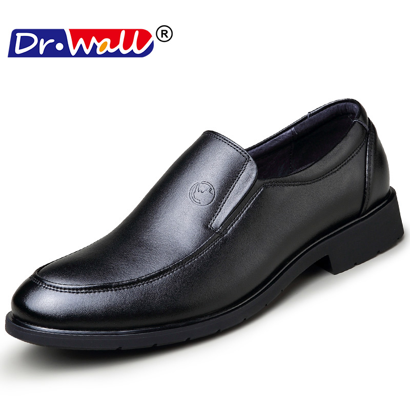 Quality Dull Polish Gradients Lace Up Low Top Casual Shoes Flats 2018 Fashion Business Shoes leather Shoes Men 1045798 1045799