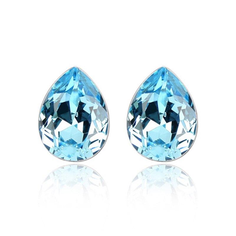 Ms Betti Pear shape fancy stone crystal from Swarovski stud