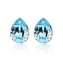 Ms Betti Pear shape fancy stone crystal from Swarovski stud earrings for women bestselling gifts for girls 2018 graduation gifts