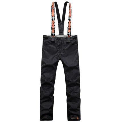 GSOU SNOW Double simple planche pantalon de Ski pour femme hiver extérieur imperméable chaud épaissi coupe-vent respirant pantalon de Ski - 4