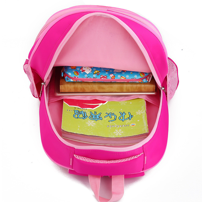 Children Nylon School Bags Luggage Bag For Boys Backbag Schoolbags Girls Backpacks 2 6 Wheels Removable Trolley Schoolbag in School Bags from Luggage Bags