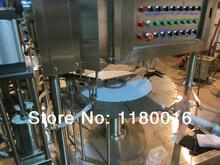 automatic glass bath filling capping machine,3L bag car bath/bean milk filling machine_stand-up pouch bag filler with bag feeder