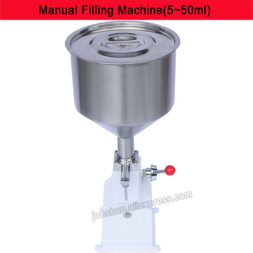 10L Manual Hand Pressure Filling Machine Stainless Paste Dispensing Liquid Packaging Equipment Shampoo Cosmetic Machine 1-50ml jiqi manual food filling machine hand pressure stainless steel pegar sold cream liquid packaging equipment shampoo juice filler
