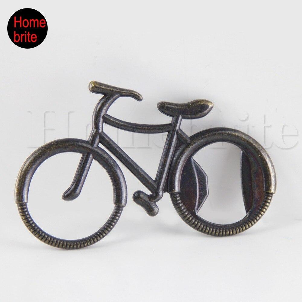 3 pcs Metal Bicycle Beer Bottle Opener Cute Bike Keychain Rings ...