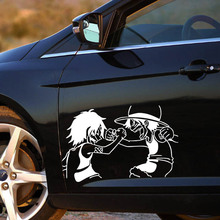 One Piece luffy Ace Car Stickers Vinyl Decal 14x22CM