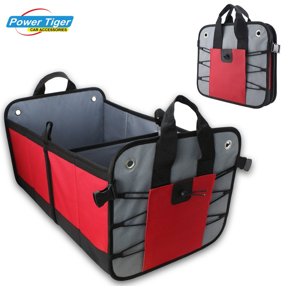 Heavy Duty Auto Trunk Organizer For Car SUV Truck Premium Quality Durable Collapsible Cargo Storage