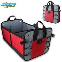 Сверхмощный Автомобильный багажник органайзер для автомобиля, внедорожника, грузовика-премиум качества прочный складной грузовой хранения