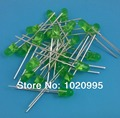 1000PCS/LOT diffused 3MM Green LED light emitting diode 565nm 1.9-2.4v F3mm Green LED Round Free shipping!