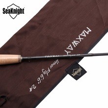 SeaKnight MAXWAY HONOR 2# Carbon Super Light 61g Fly Rod 1.98M Fly Fishing Rod Wood Reel Seat Cork Handle Medium Fishing Rod