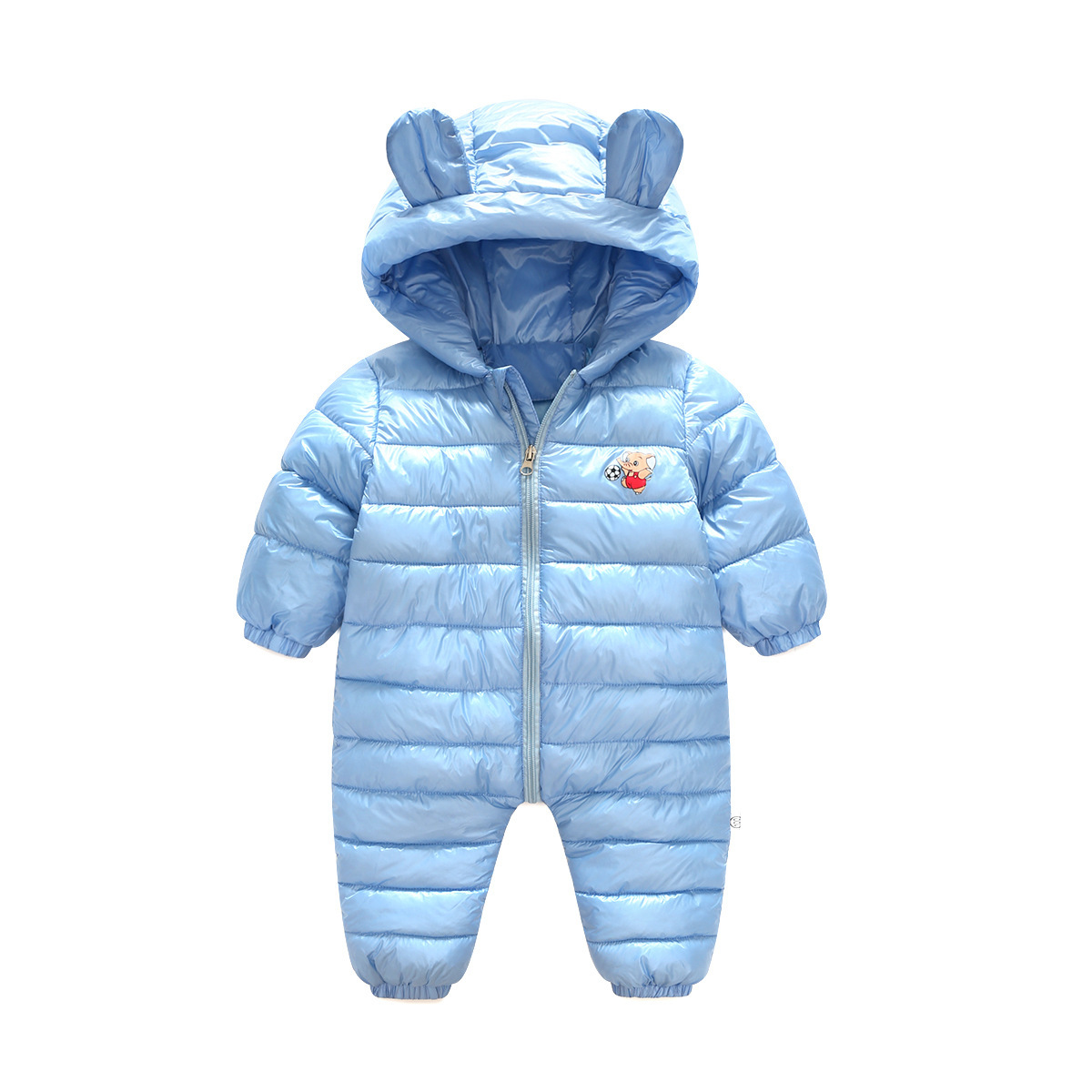 2017 New Arrival Autumn&winter Girls Boys Fashion Down Coat  Kids Hooded Romper Children Jacket Baby Boys Girls Clothes suit moomin 2016 new arrival winter waterproof romper 100