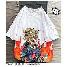 Dragon Ball Trunks on Fire Super Saiyan T-Shirts Tee