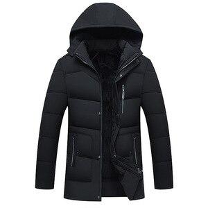 FAVOCENT نوعية جيدة الرجال سترة سوبر الدافئة سميكة رجل الشتاء ستر طويل معاطف مع هود للرجال الترفيه سترة زائد حجم 4XL