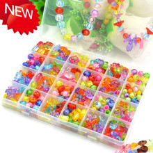 24 lattice Children DIY Beads for math accounting, Acrylic Beaded puzzle for kids educational toys, free shipping