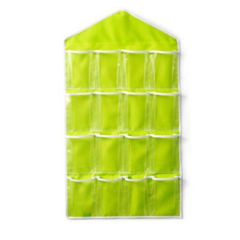 Nouvelle mode créative multi-usages utilitaire placard sous-vêtements chaussettes classées inclus sacs suspendus sac Polyester + PE 80*42 cm